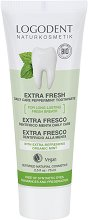 Logodent Extra Fresh Daily Care Pepermint Toothpaste - паста за зъби