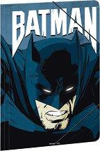 Папка с ластик - Батман - Формат А4