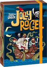 Кутия с ластик - Jolly Roger