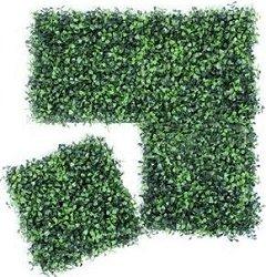 Декоративни плочи от изкуствени растения - Комплект от 4 броя