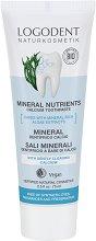 "Logodent Mineral Nutrients Calcium Toothpaste - Минерална паста за зъби с калций от серията ""Logodent"" - паста за зъби"