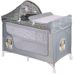 Сгъваемо бебешко легло на две нива - San Remo 2 Layers Plus - Комплект с аксесоари - продукт