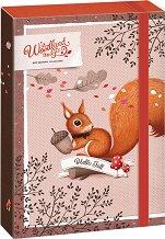 Кутия с ластик - Woodland Magic - Формат А4