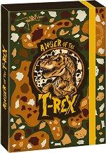 Кутия с ластик - T-Rex - Формат А4