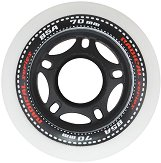 Резервни колела за ролери -  Radical 70 x 24 mm - Комплект от 4 броя -