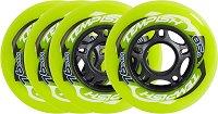 Резервни колела за ролери -  Radical Color - Комплект от 4 броя -