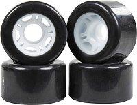 Резервни колела за ролкови кънки - Quad Skates 65 х 35 mm - Комплект от 4 броя -
