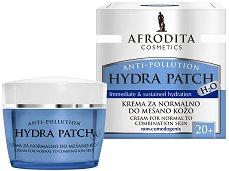 Afrodita Cosmetics Hydra Patch H2О Cream 20+ - Хидратиращ крем за лице за нормална до комбинирана кожа -