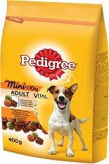 Pedigree Dry Chicken & Vegetables Adult Mini - Суха храна с пилешко и зеленчуци за кучета от дребни породи на възраст над 1 година - чували от 400 g и 2 kg -