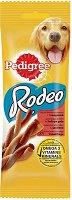 Pedigree Rodeo with Beef - Лакомство с говеждо за кучета на възраст над 1 година - опаковки от 4 и 8 броя -