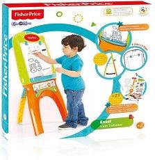 Дъска за писане - Easel - Образователна играчка с аксесоари - детски аксесоар