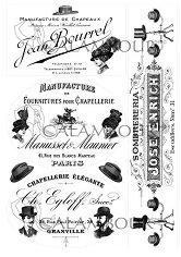 """Декупажна хартия - Винтидж илюстрации 271 - Серия """"Digital Collection Mulberry"""""""