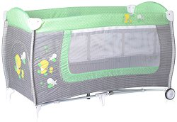Сгъваемо бебешко легло на две нива - Danny 2 Layers 2018 - Комплект с повивалник -
