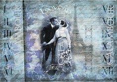 Декупажна хартия - Любов в Париж 94