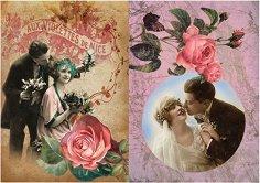 Декупажна хартия - Сватба 95