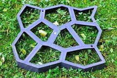 Форма за градинска настилка - Bazalt - Размер 60 / 6 / 60 cm