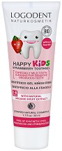 Logodent Happy Kids Strawberry Toothgel -