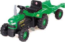 Детски трактор с педали - играчка