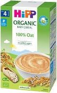 HIPP - Био инстантна безмлечна каша - Овес - Опаковка от 200 g за бебета над 4 месеца - продукт