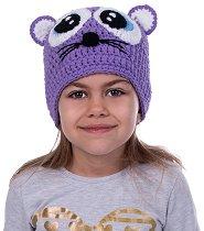 Ръчно плетена шапка - Мишле -
