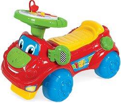 Детска кола за бутане - Интерактивна образователна играчка - играчка