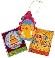 """Балони пуканки - Празници - Комплект от 3 броя от серията """"Wack-A-Pack"""" - играчка"""