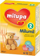 Преходно мляко - Milumil 2 - Опаковка от 600 g за бебета от 6 до 12 месеца -