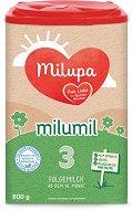 Преходно мляко - Milumil 3 - Опаковка от 600 g за бебета над 12 месеца -