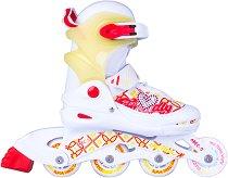 Детски ролери със светещи колела - Action Joly -