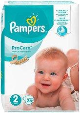 Pampers ProCare Premium Protection 2 - Пелени за еднократна употреба за бебета с тегло от 3 до 6 kg - продукт