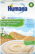 Humana - Инстантна млечна каша с елда - Опаковка от 200 g за бебета над 4 месеца - пюре