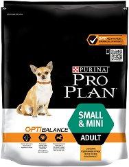 Purina Pro Plan Optibalance Chicken Small & Mini Adult - Суха храна с пилешко месо за кучета от малки и дребни породи на възраст над 1 година - чували от 700 g ÷ 7 kg -