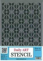 Шаблон - Винтидж листа - Размери 21 х 29.7 cm