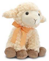 Овчица с панделка - Плюшена играчка - играчка