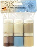 Двуфазен напукващ се лак - Small Crackling Set - Комплект за декорация от 6 бурканчета х 25 ml