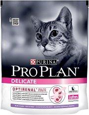 Purina Pro Plan Optirenal Turkey Delicate - Суха храна с пуешко месо за котки с чувствително храносмилане на възраст над 1 година - чували от 400 g ÷ 10 kg -