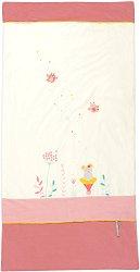 Бебешко кадифено одеяло - Mademoiselle et Ribambelle - Размери 70 x 140 cm -