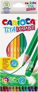 Цветни моливи с гума - Tita