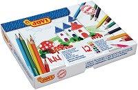 Цветни моливи - Комплект от 144 броя