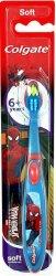 Colgate Ultimate Spiderman Soft Toothbrush 6+ - Детска четка за зъби с меки влакна -