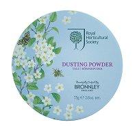"""Bronnley Orchard Blossom Dusting Powder - Пудра за тяло с аромат на овощна градина от серията """"Orchard Blossom"""" -"""