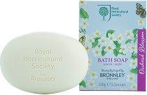 """Bronnley Orchard Blossom Bath Soap - Луксозен сапун с аромат на овощна градина от серията """"Orchard Blossom"""" -"""