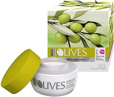 """Nature of Agiva Olives Regenerating Day Cream Anti-wrinkle - Дневен крем против бръчки за суха и чувствителна кожа от серията """"Olives"""" - червило"""
