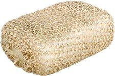 Гъба за баня с оплетка от естествен сизал -