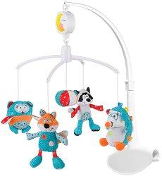 Музикална въртележка - Чарли и приятели - Играчка за бебешко креватче -