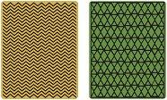 Папки за ембосинг - Геометрични текстури - За машина за изрязване и релеф
