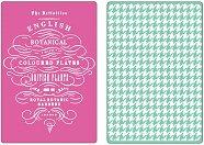 Папки за ембосинг - English Botanical & Houndstooth Set