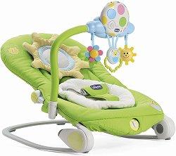 Бебешки шезлонг - Balloon - С вибрация, мелодии и светлини - биберон