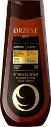 Orzene Beer Optimum Oil Repair Shampoo Very Dry + Overstressed Hair - Шампоан за много суха и стресирана коса -