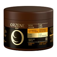 Orzene Beer Optimum Oil Repair Hair Mask Very Dry + Overstressed Hair - Маска за много суха и стресирана коса - пинцета